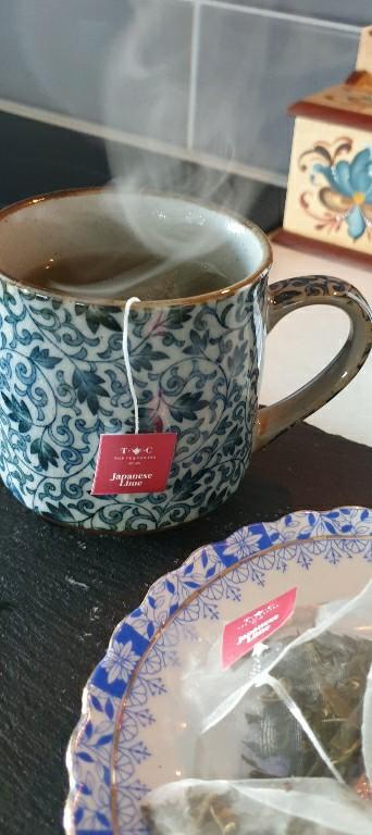 Biodegradable tea bags Japanese lime tea